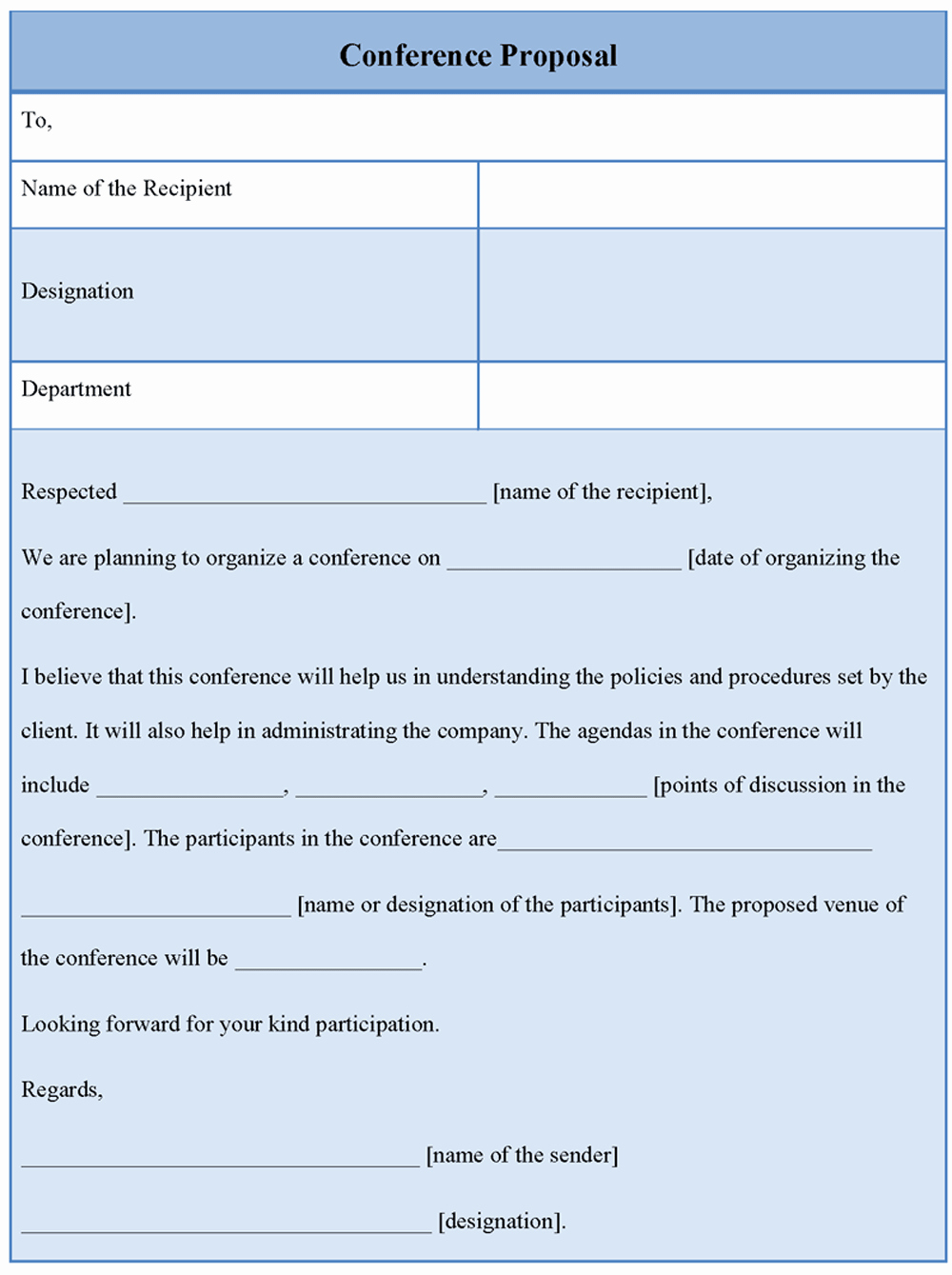 Meeting Rfp Template Unique Proposal Template for Conference Example Of Conference