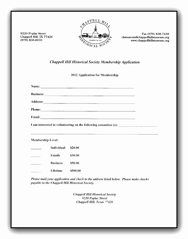 Membership Application Template Free Inspirational 9 Church Member Information form Template Ieitp