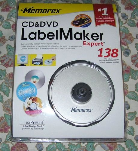Memorex Cd Labelmaker Template Awesome Amazon Memorex Cd Dvd Labelmaker Expert Discontinued