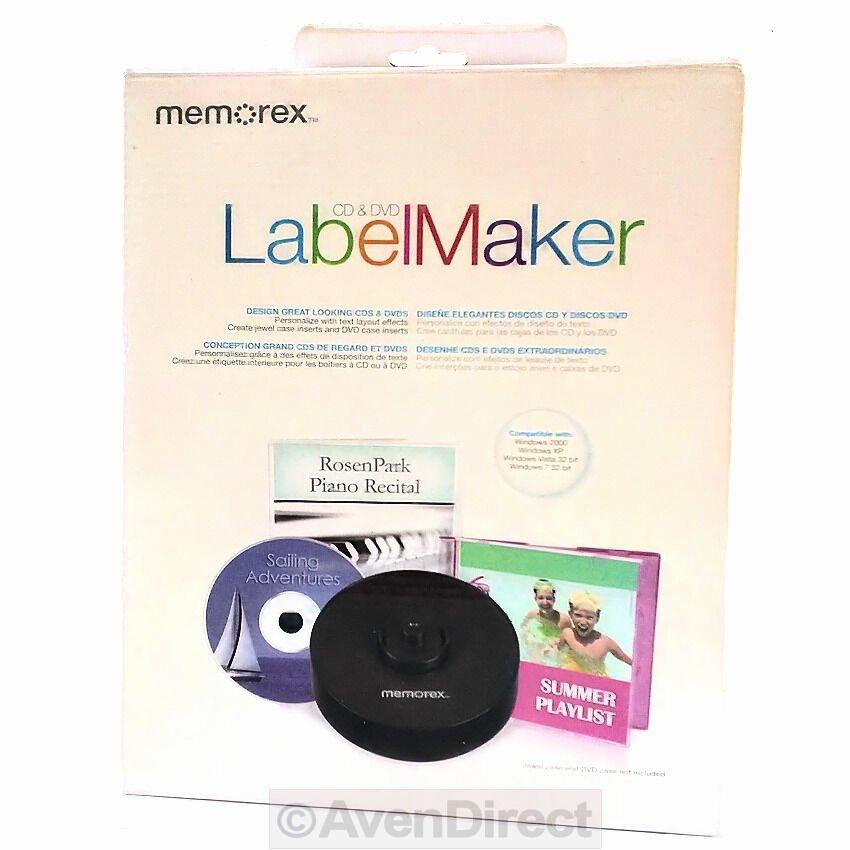 Memorex Cd Labelmaker Template Elegant New Memorex Cd Dvd Label Maker Kit Professional Design