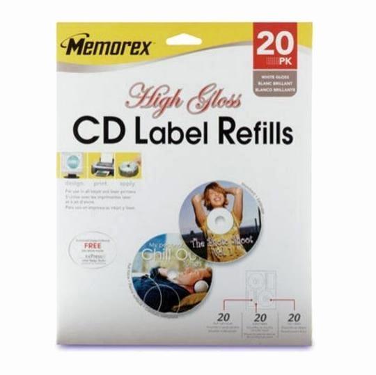 Memorex Cd Labelmaker Template Lovely Memtek Memorex Labelmaker Cd Labels White