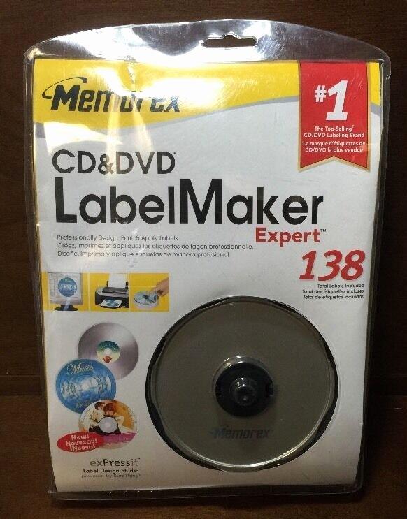 Memorex Cd Labelmaker Template New New In Package Memorex Cd&dvd Label Maker Expert 138 Read