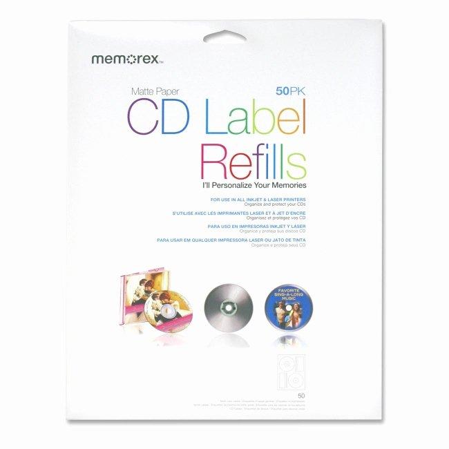 Memorex Cd Labelmaker Template Unique Printer
