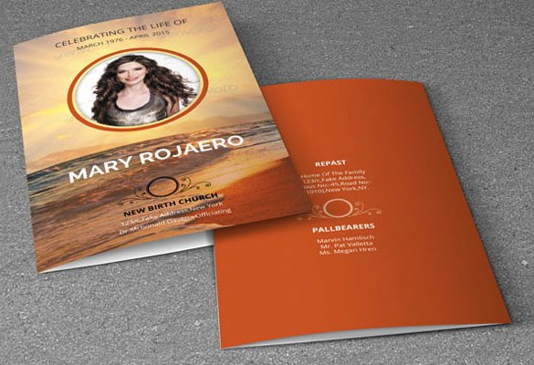 Memorial Card Template Beautiful 16 Obituary Card Templates Free Printable Word Excel