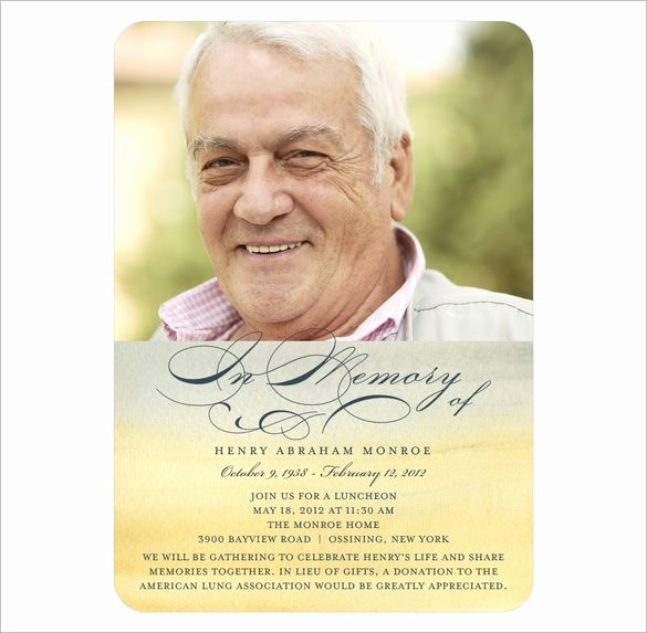 Memorial Card Template Free Download Lovely 21 Obituary Card Templates – Free Printable Word Excel