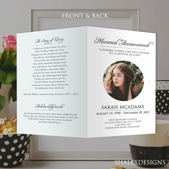 Memorial Card Template Inspirational 25 Best Ideas About Memorial Cards On Pinterest