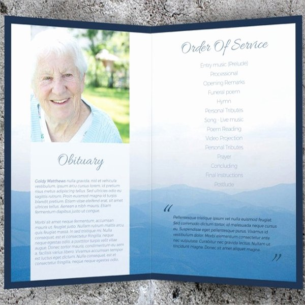 Memorial Cards for Funeral Template Free Elegant 8 Memorial Card Templates