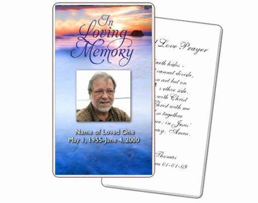 Memorial Cards for Funeral Template Free New Memorial Card Quotes for Funerals Quotesgram