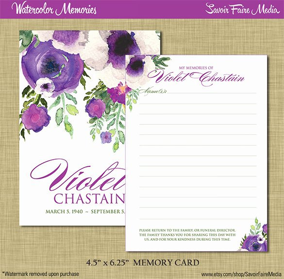 Memorial Cards Template Free New Funeral Obituary Template 25 Free Word Excel Pdf Psd