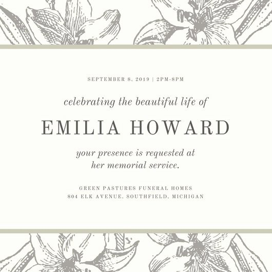 Memorial Service Announcement Template Lovely Examples What to Say at A Memorial Service