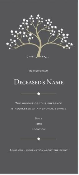 Memorial Service Invitations Templates Fresh Best 25 Memorial Services Ideas On Pinterest