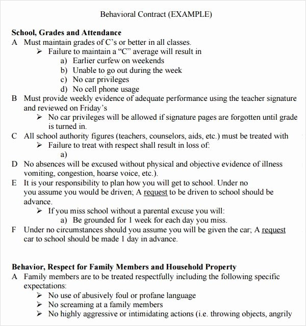 Mental Health Confidentiality Agreement Template Elegant 25 Of Patient Behavioral Contract Template