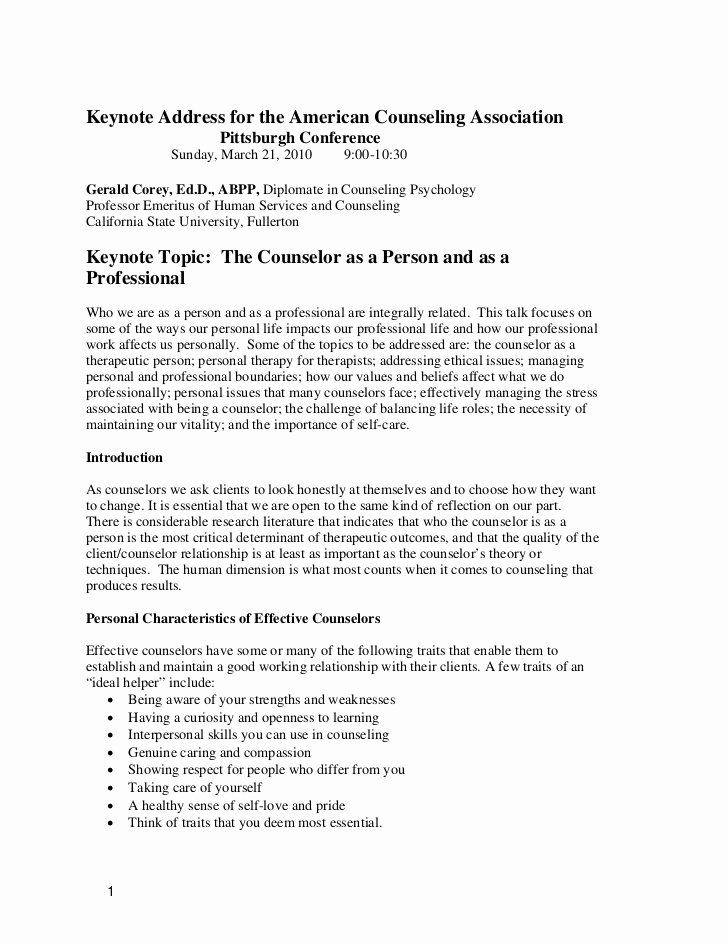 Mental Health Confidentiality Agreement Template Elegant Counselor as Person and Professionals
