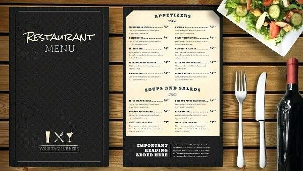 Menu Template Google Docs Lovely Free Cocktail Menu Template Download Menus In Word Google