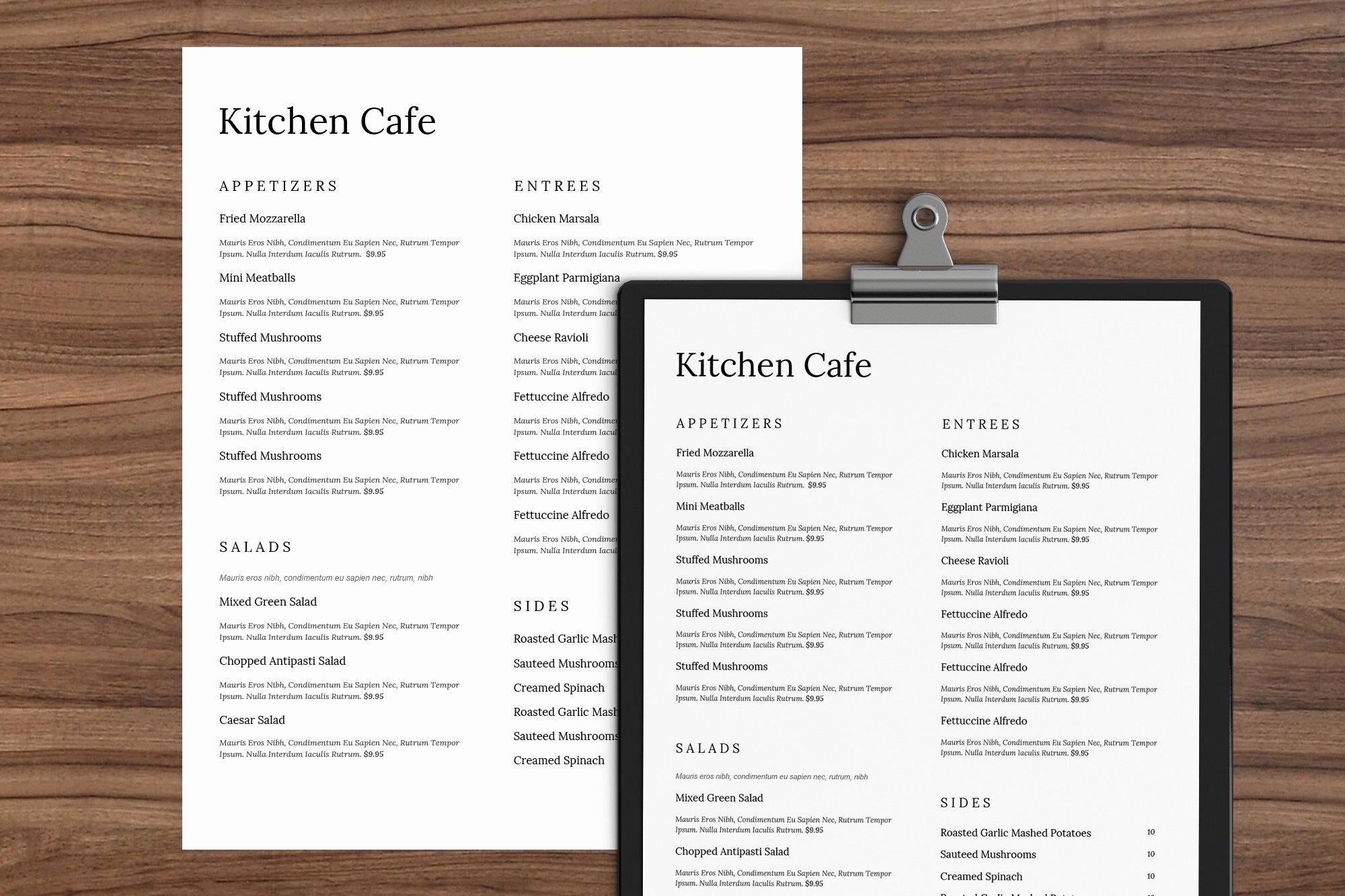 Menu Template Google Docs Lovely Menu Template Google Docs Restaurant Free Dinner Food List