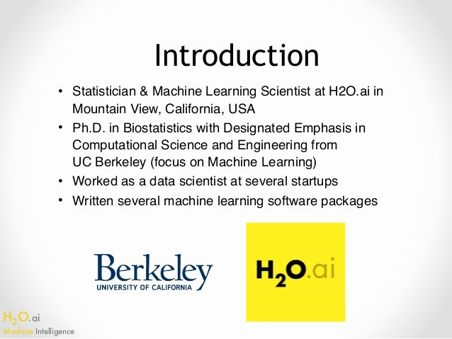 Message to Garcia Cliff Notes Lovely Intro to H2o Machine Learning In Python Galvanize Seattle