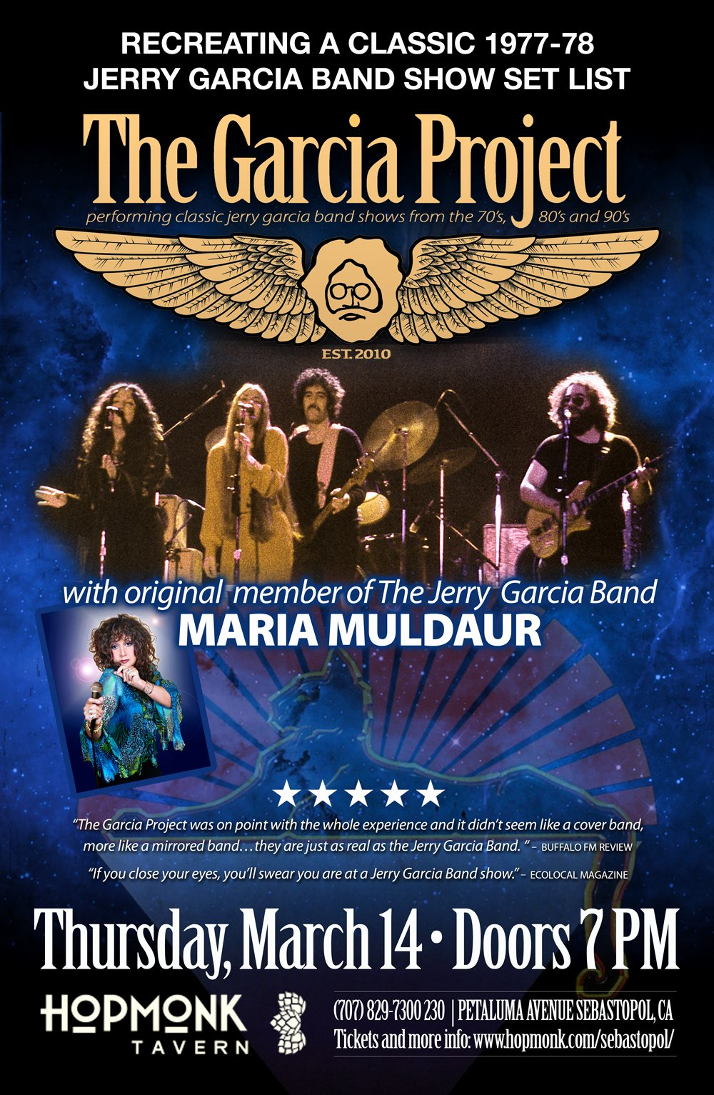 Message to Garcia Pdf Inspirational Buy Tickets to the Garcia Project W Maria Muldaur In