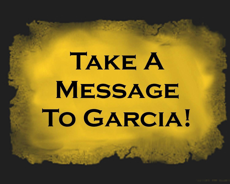 Message to Garcia Pdf Inspirational Professionalism