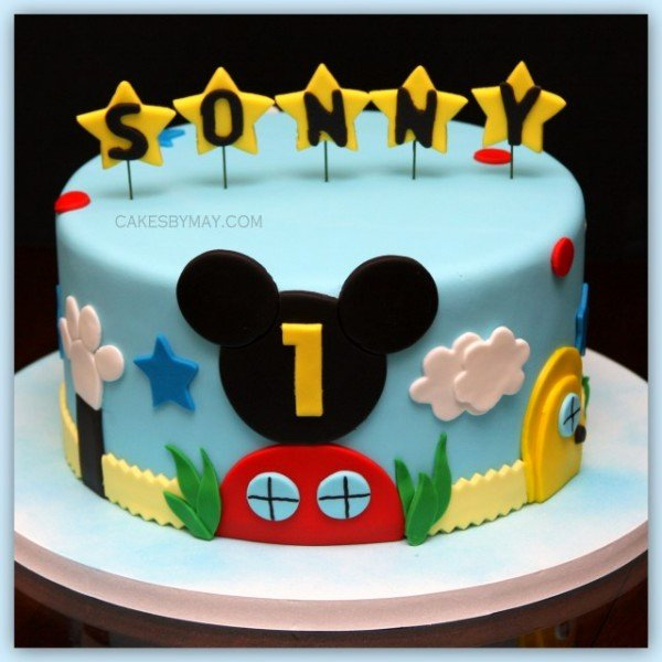 Mickey Mouse Cake Template Free New De Prar Bolo Mickey