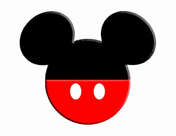 Mickey Mouse Cut Out Ears Awesome Mickey and Minnie Ears Clipart Clipart Kid
