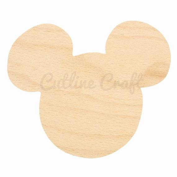 Mickey Mouse Cut Out Ears Beautiful Happy Everything Mini Mickey – Dixie Delights