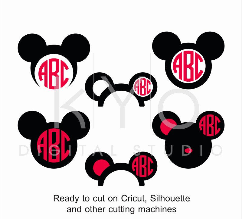 Mickey Mouse Cut Out Ears Beautiful Mickey Ears Svg Cut Files Disney Mouse Ears Svg Mouse Head