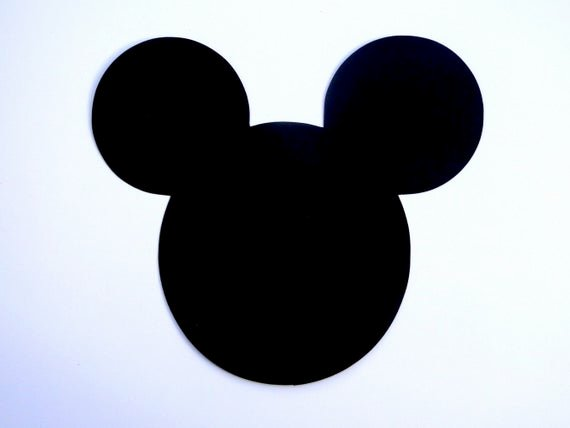 Mickey Mouse Cut Out Ears Elegant 6 Mickey Mouse Head Ears Die Cut Disney Mickey Mouse