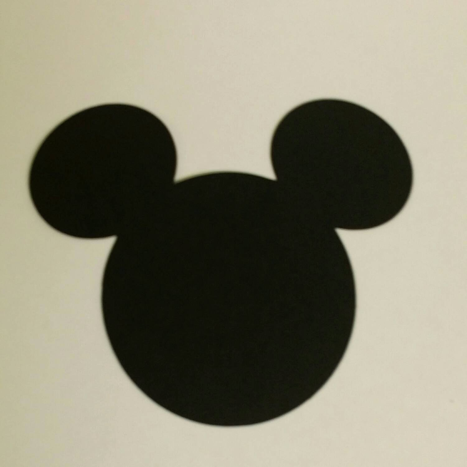Mickey Mouse Cut Out Ears Elegant Mickey Mouse Cut Outs