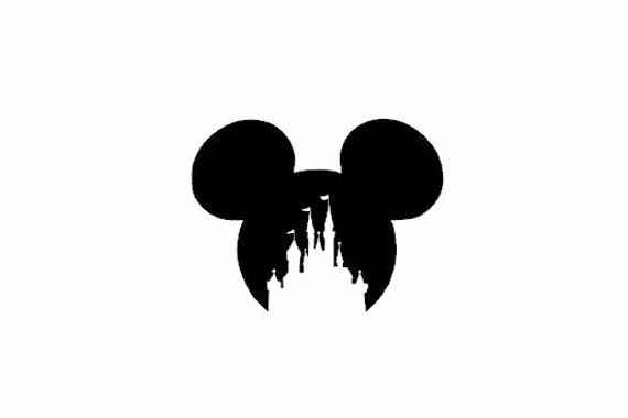 Mickey Mouse Cut Out Ears Inspirational Disney Mickey Mouse Ears Castle Instant Download Svg Png