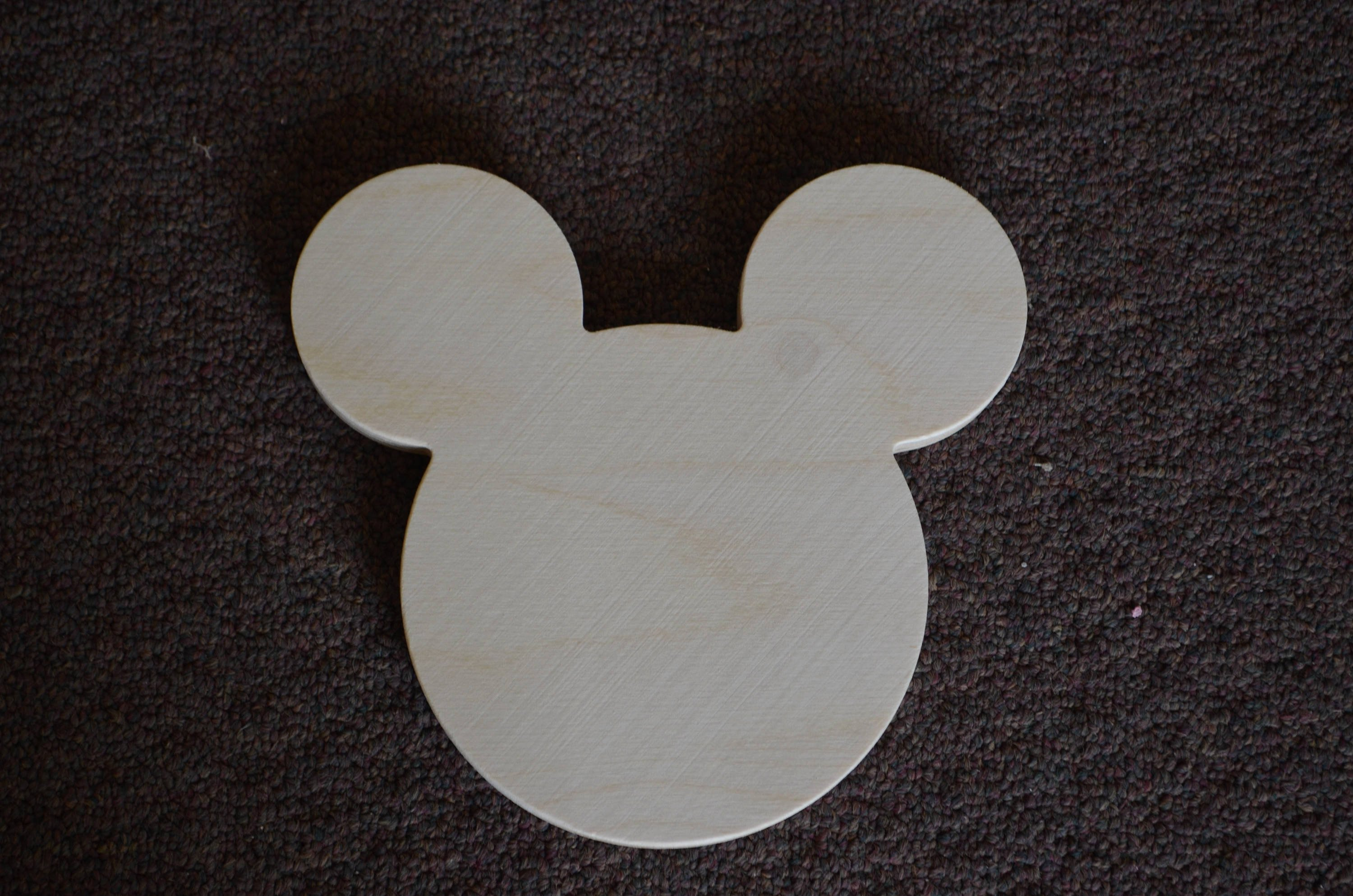 Mickey Mouse Cut Out Ears New Mickey Mouse Head Cut Out Wooden Mickey Mouse Ears Mickey