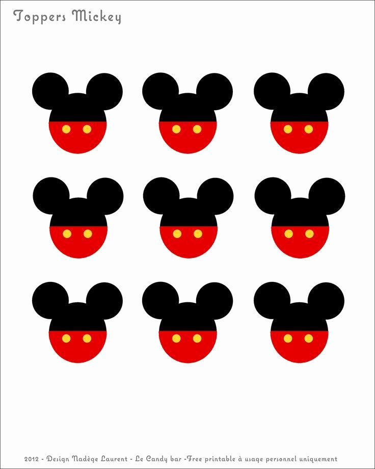 Mickey Mouse Cut Out Printable Awesome Mickey Mouse Birthday Banner Free Printables I Am Sure
