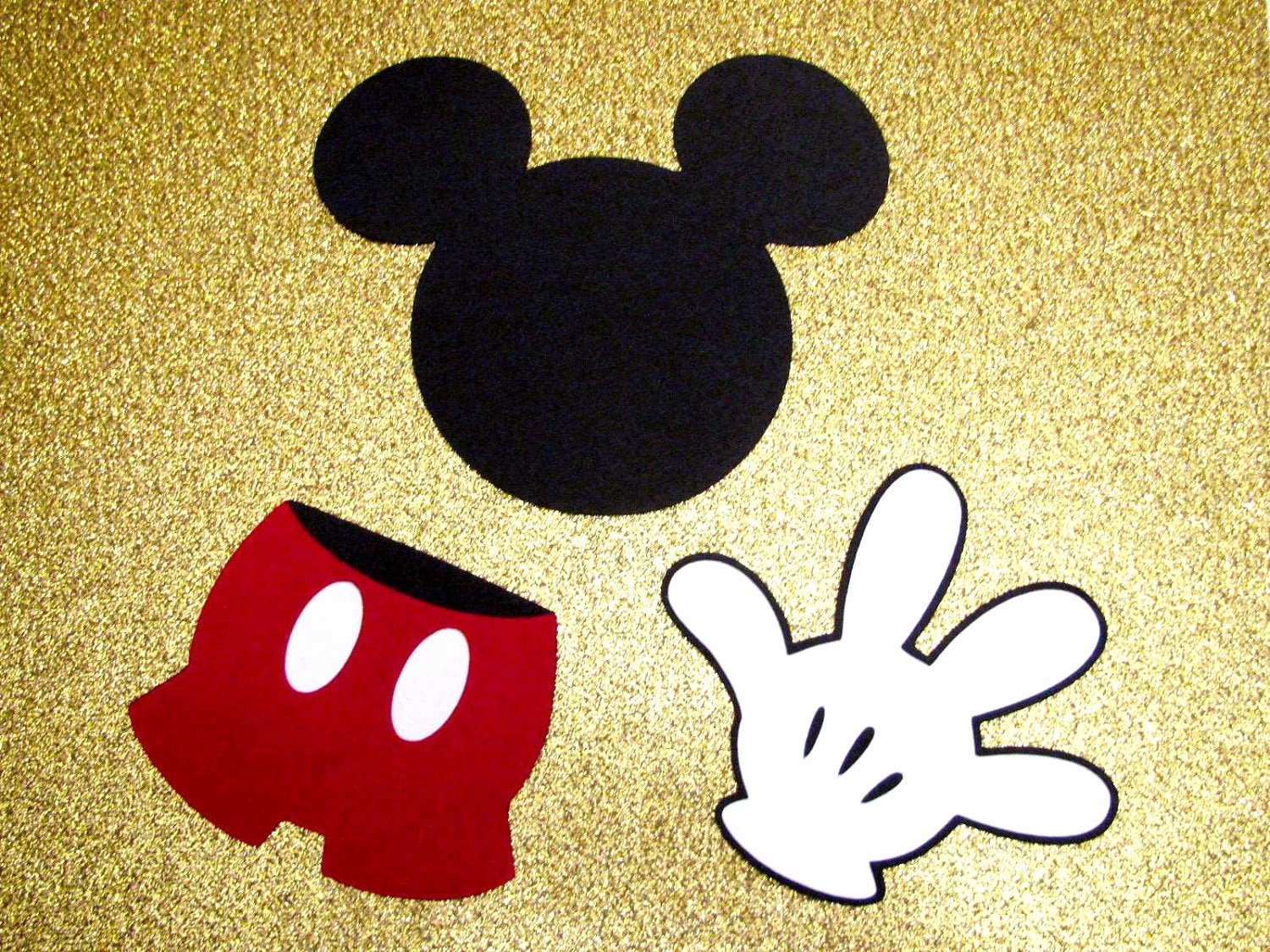 Mickey Mouse Cut Out Printable Fresh Mickey Mouse Die Cut Disney Embellishment Scrapbooking