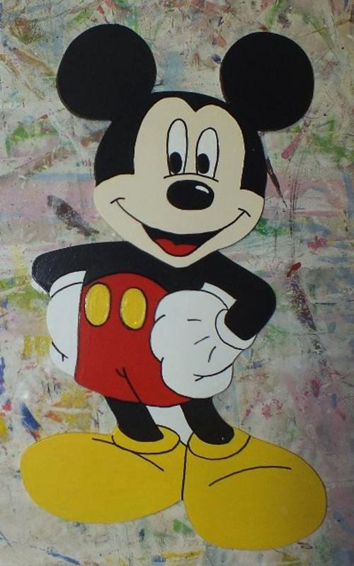 Mickey Mouse Cut Out Printable Fresh Wall Decor Mickey Mouse and Friends Cut Outs Was sold
