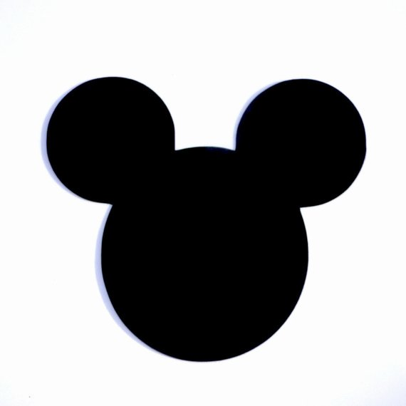 Mickey Mouse Cut Out Printable Luxury 4 Mickey Mouse Head Ears Die Cut Disney S Mickey