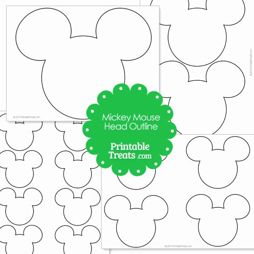 Mickey Mouse Cut Out Printable Luxury Free Mickey Outline Download Free Clip Art Free Clip Art