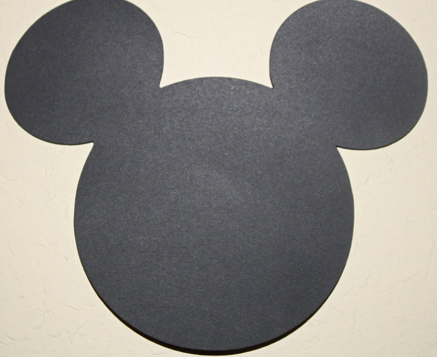 Mickey Mouse Head Cutout Template Unique Mickey Mouse Head Die Cut Out 5 5 Inches Perfect for