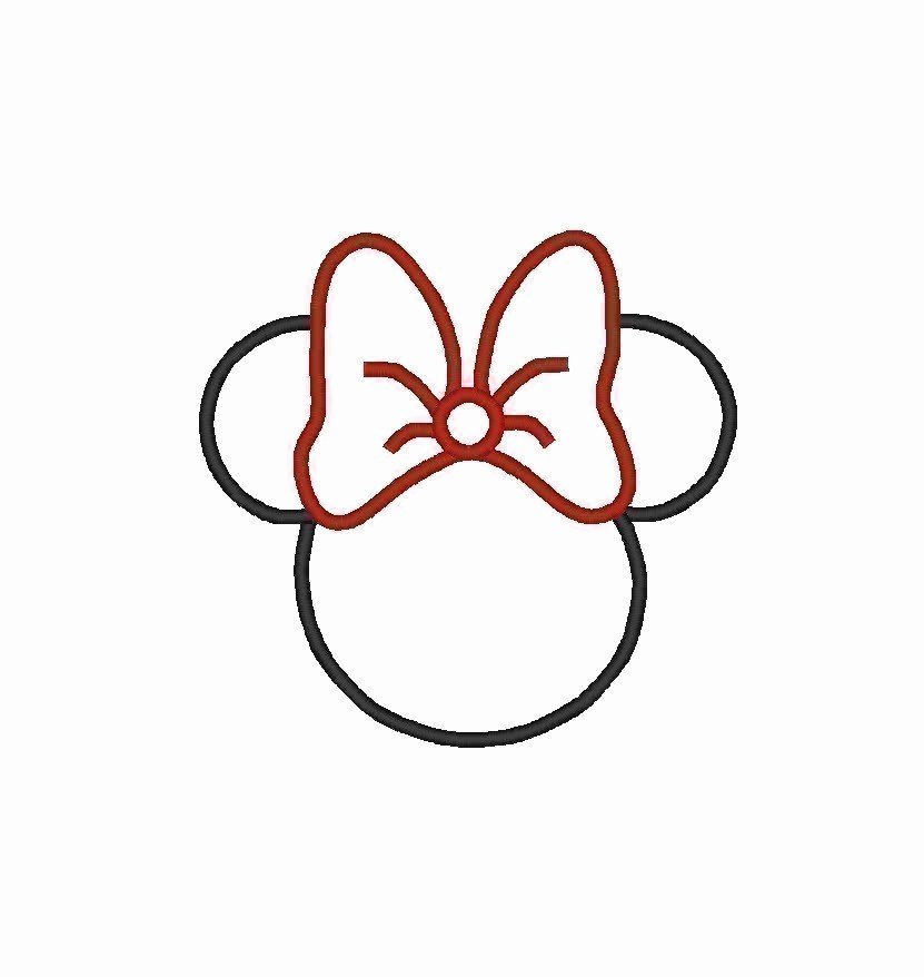Mickey Mouse Head Cutout Template Unique Mickey Mouse Head Template Cliparts