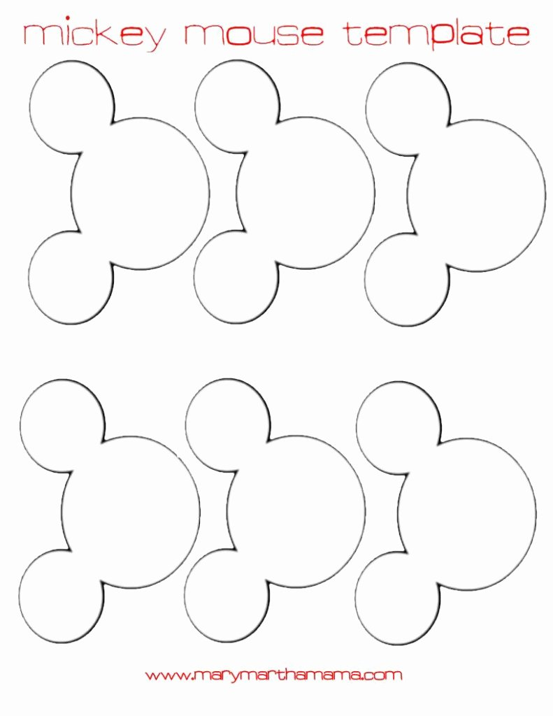 Mickey Mouse Head Printable Cutouts New Diy Mickey Mouse Ears Garland Tutorial – Mary Martha Mama