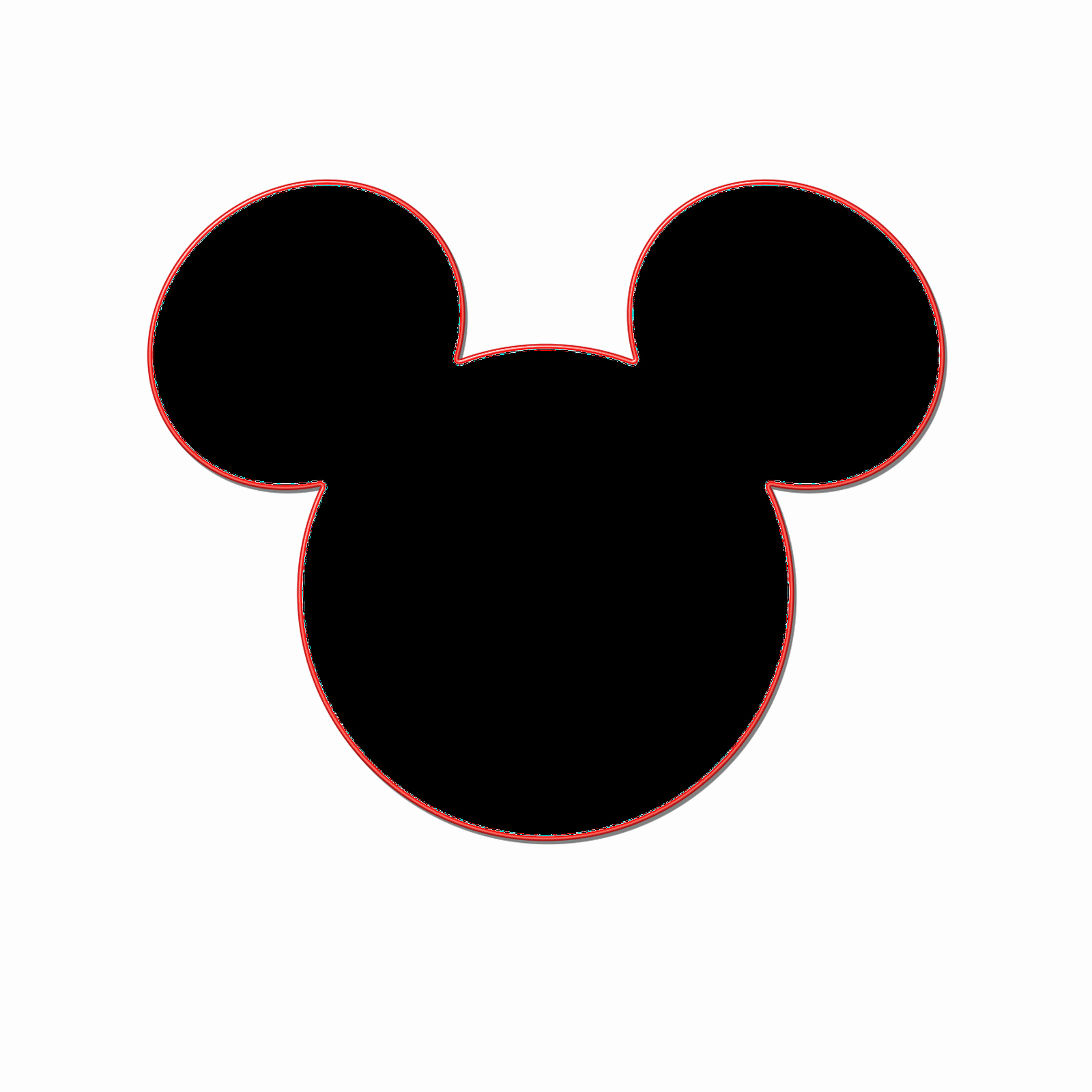 Mickey Mouse Head Template Awesome Printable Mickey Mouse Head Cliparts