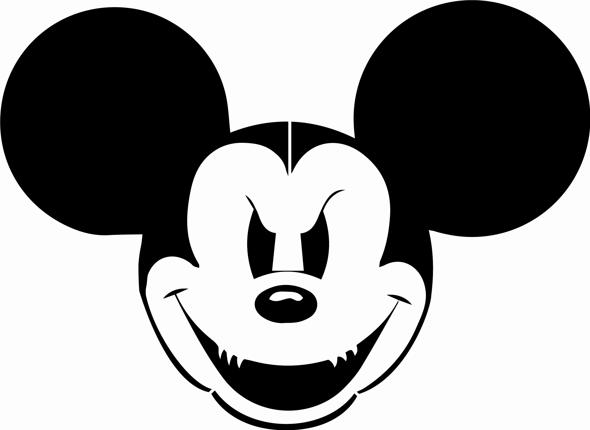 Mickey Mouse Head Template Best Of Free Mickey Mouse Free Stencils Download Free Clip Art