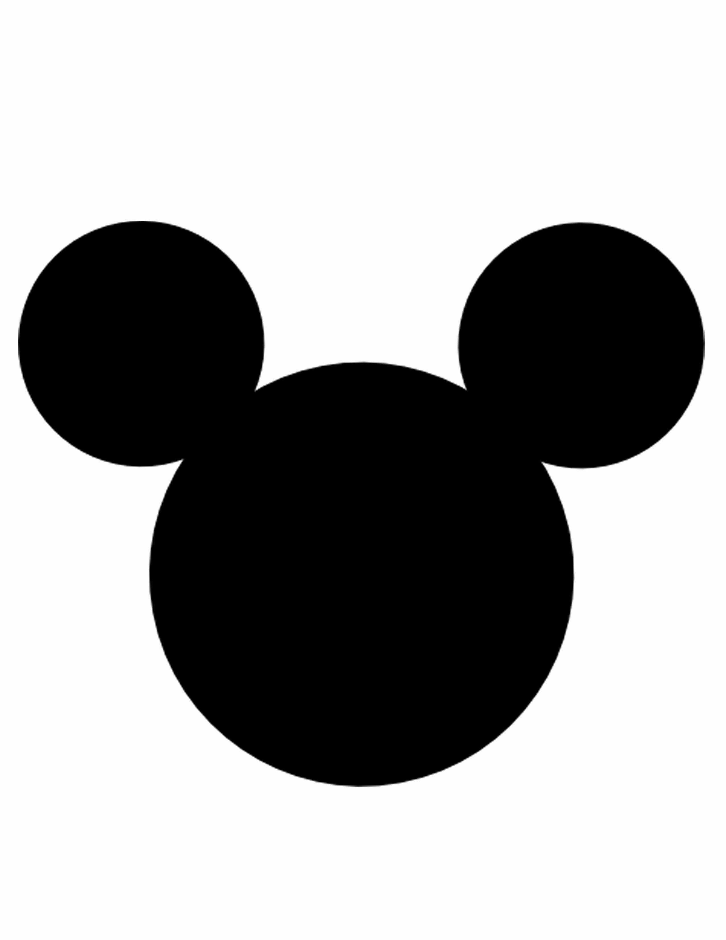 Mickey Mouse Head Template Fresh Free Mickey Head Download Free Clip Art Free Clip Art On