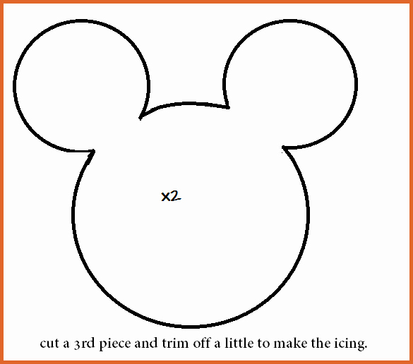 Mickey Mouse Head Template Lovely Mickey Mouse Head Template Free Download Clip Art Carwad