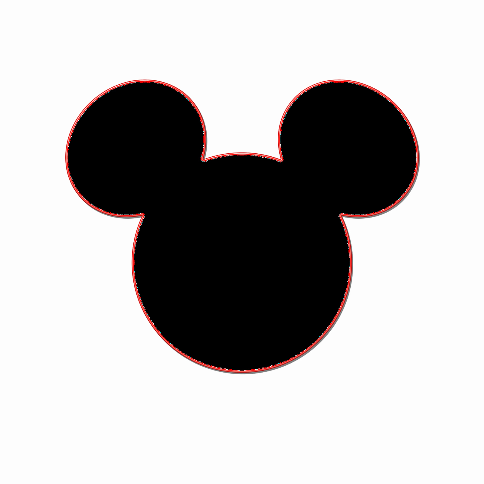 Mickey Mouse Head Template Luxury Milliepie S Musings Making Your Own Mickey Head
