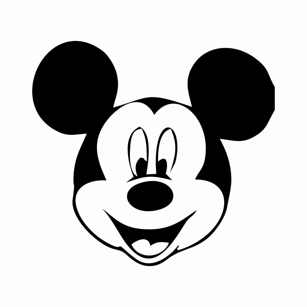 Mickey Mouse Head Template New Free Printable Mickey Mouse Template