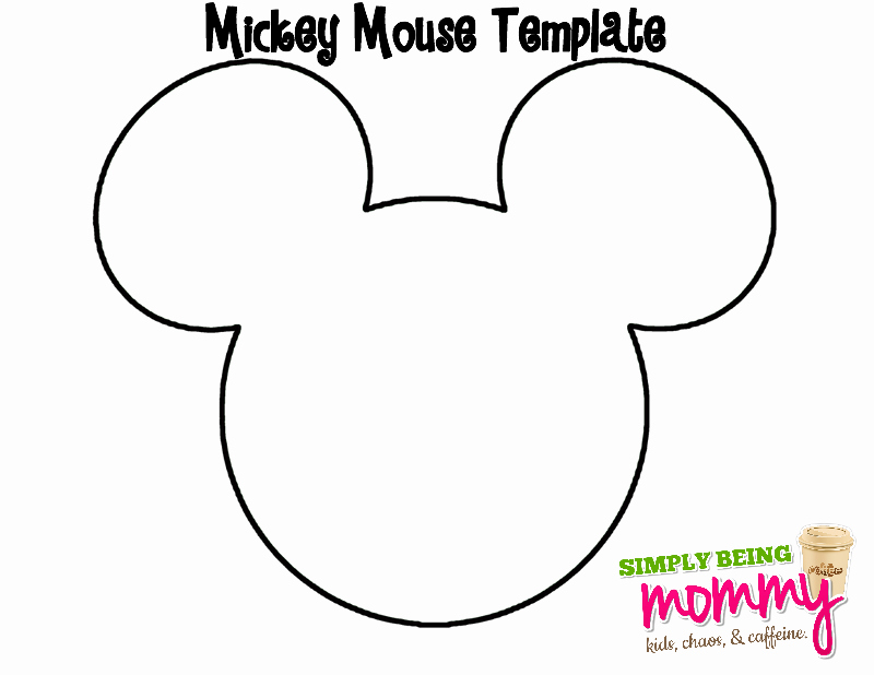 Mickey Mouse Head Template Printable Beautiful Diy Bleached Mickey Mouse Shirt