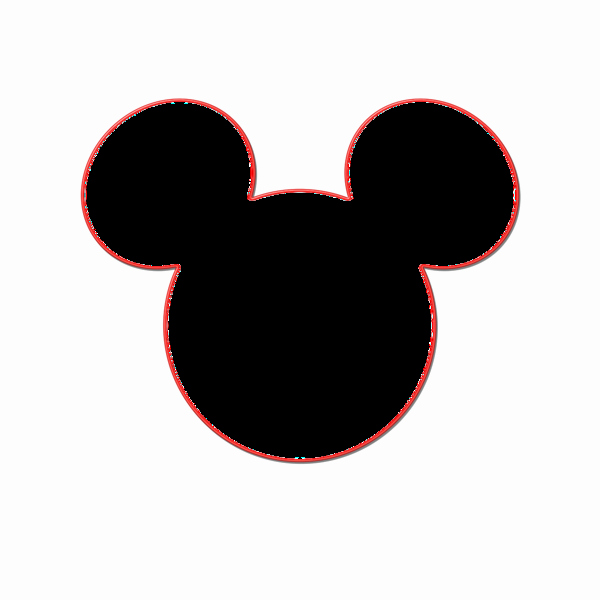 Mickey Mouse Head Template Printable Elegant Mickey Mouse Head Template