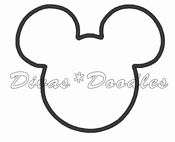 Mickey Mouse Head Template Printable Inspirational Free Printable Mickey Mouse Ears Template Download Free