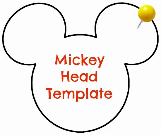 Mickey Mouse Head Template Printable New Diy Disney Personalized Dcl Stateroom Magnets