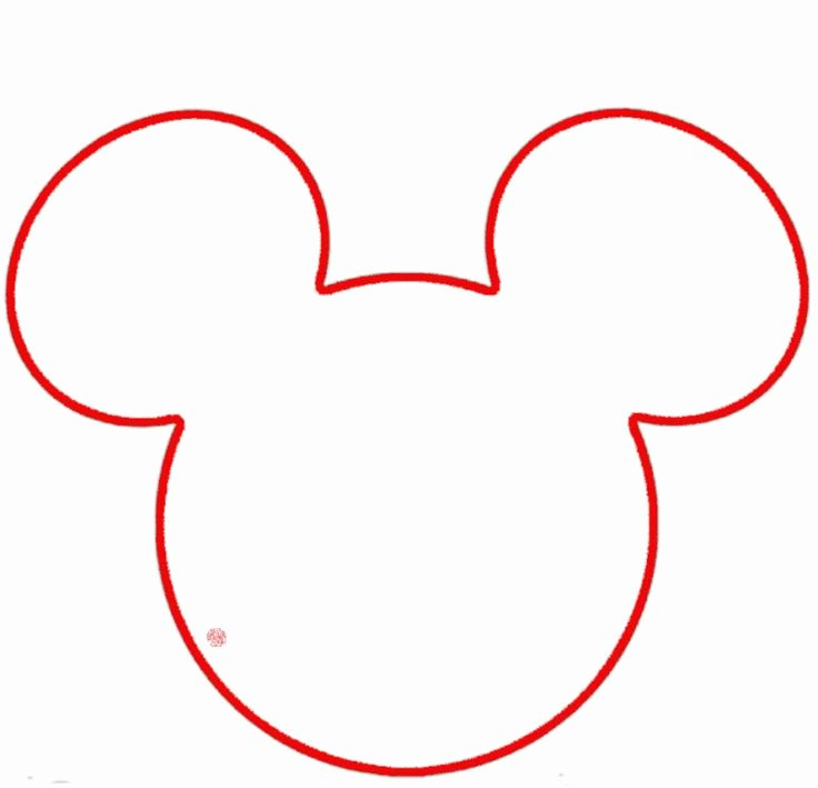 Mickey Mouse Outline Printable Fresh Free Outline Mickey Mouse Head Download Free Clip Art