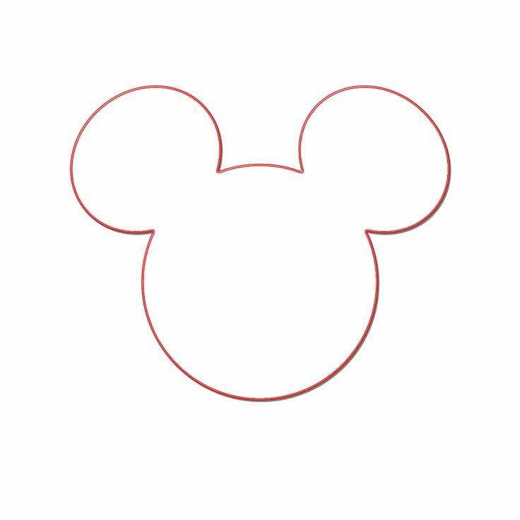 Mickey Mouse Outline Printable Inspirational Best 25 Mickey Mouse Ideas On Pinterest